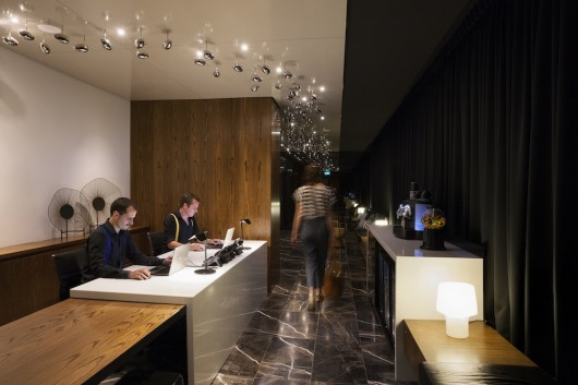 Ovolo Hotel Reception
