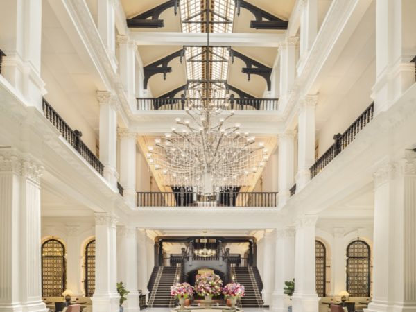 RAFFLES HOTEL SINGAPORE: RETURN OF AN ICON