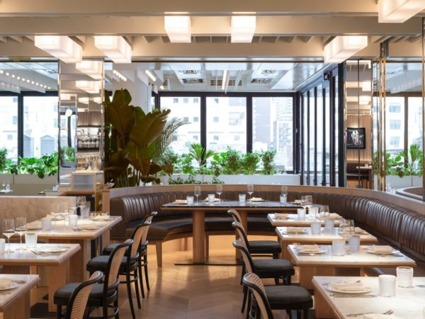 NEW MARCUS RESTAURANT AT FOUR SEASONS HOTEL MONTREAL